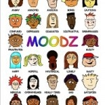 Moodz Poster - Multi-ethnic feelings poster