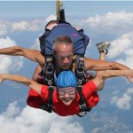 Susan Skydiving
