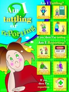 Tattling or Reporting?