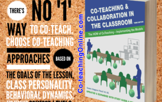 Co-Teaching, Classroom planning, successful collaboration, co-teachers